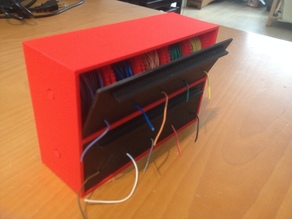 Customizable Wire Spool Holder Box / Dispenser