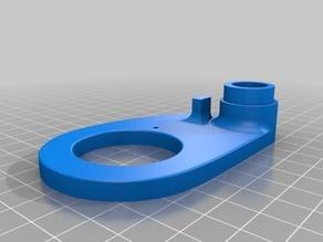 Ducto radial para tubo de ventilación flexible modular
