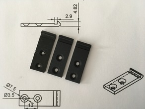 Dual P 42 Turntable hinge clip