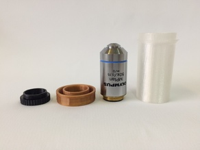Olympus Microscope Objective Lens Dust Protective Case