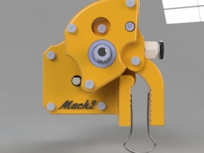 Geared Bowden (3 gear ratios)