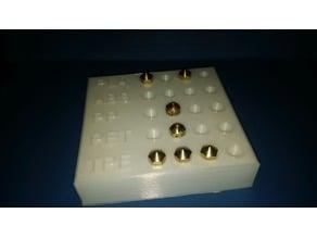 Mk10/11 nozzle plate