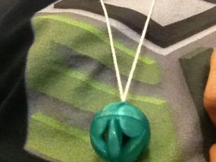 Marble Container Pendant
