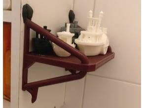 Bath Shelf Single Plate