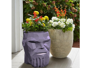 Thanos Flower Pot - Low poly