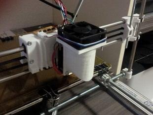 RepRapPro Mendel - Fan adapter 50mm