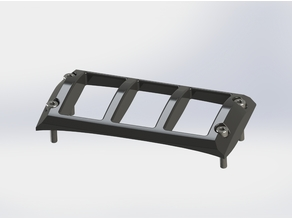 Toyota 4Runner Center Console Switch Guard