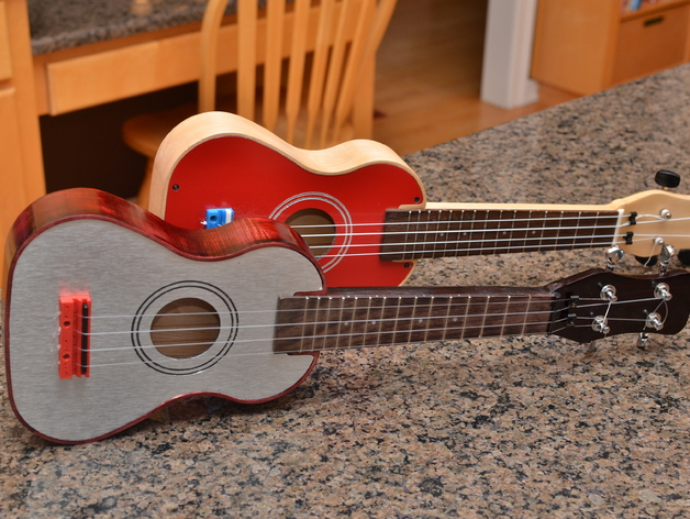 Solid Body Ukulele (2.5D CNC Project) by CNCRouterParts