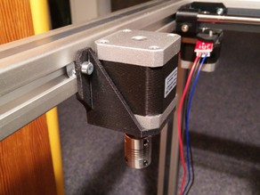 Z Motor Mount for 30x30mm profile, sparkcube