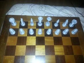 Self designed chess set
