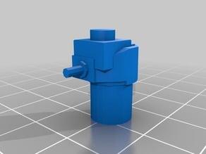 T35 Lego Machine Gun Turret - Shrunk