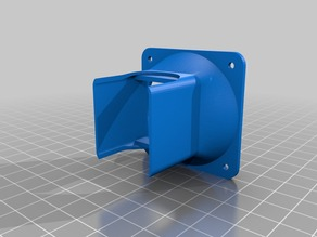 E3D v5 50mm Fan Duct and Fan Guard