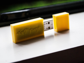 Daft Punk USB enclosure