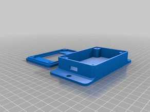 8x8 matrix wall mount case