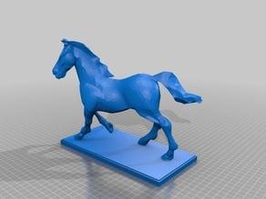 Horse Statue Monument ProCoPrint3D