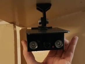 WIFI night vision camera (indoor) based on an RPI Zero W // WLAN Nachtsichtkamera (indoor) basierend auf einem RPI Zero W und MotioneyeOS
