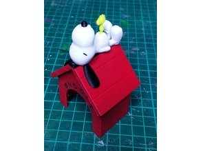 Snoopy with Woodstock MMU2