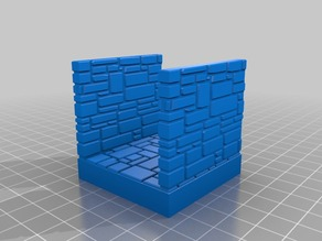 OpenForge Stone Brick double wall