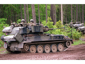 FV107 Scimitar armoured reconnaissance vehicle
