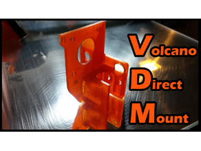 Volcano Direct Mount for CR-10 printer