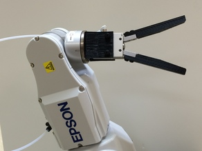 SMC MHC2-20 Gripper Mount & Fingers (End Effector) for Epson C3 Robot