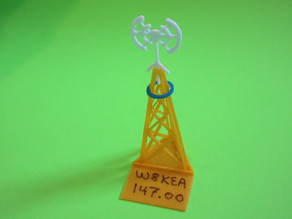 Ham Radio Tower Model Memento