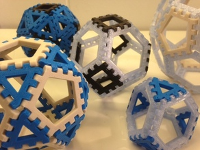 Poly-Snaps: Tiles for Building Polyhedra