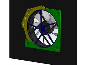 Dust filter for 120mm PC fans