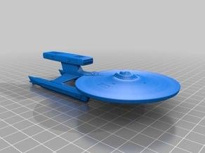 Star Trek Abbe class, USS Pratchett 1:2000