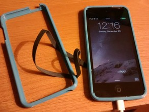 iPod Touch 5th Gen Bumper for Flexible Filaments