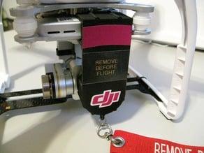 Phantom 3 Pro Lens Cover and Gimbal Lock