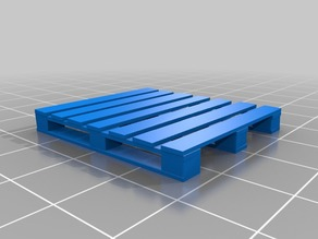 1:35 Scale Wood Pallet