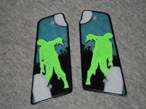 Walking Dead Zombie - 45° Paintball Grips