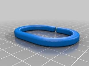 C Shape Shower Curtain Ring