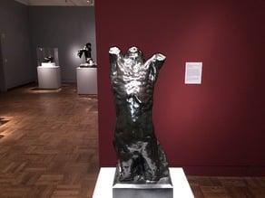 Narcisse, Rodin, Portland Art Museum