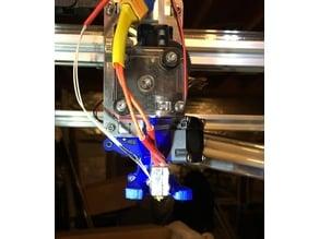 Folger Tech FT-5 part cooling fan blower duct for 713Maker alu X carriage, e3d titan extruder, heat sink, volcano hot end