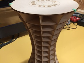 MDF TOWER STOOL
