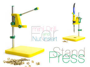Stand Press. 2 in 1