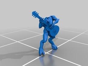 Halo Minor Elite model with Guitar
