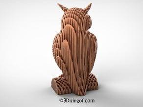 Fluidic Owl by Dizingof