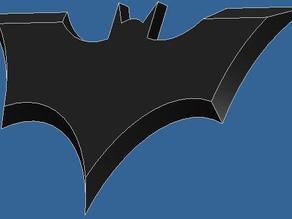 Batman throwing star