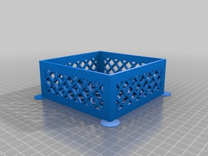 Square Parametric Container