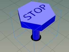 STOP button for HE3D Smart LCD
