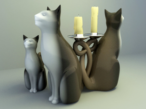 decoration cats