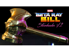 Beta Ray Bill Stormbreaker Hammer V.2