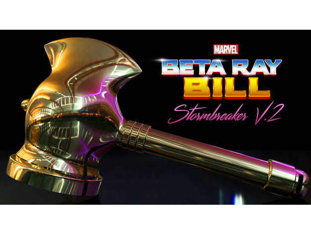 beta ray bill stormbreaker hammer v 2 by thebrokennerd83