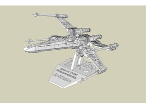 X-Wing T-65 Stand