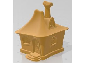 Busya's tiny fairytale house