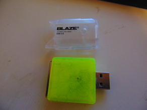 BLAZE SD card reader replacement case.
