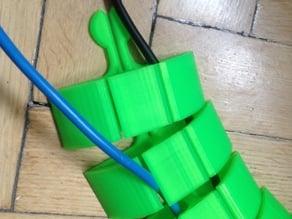 Modular Flexible Cable Conduit